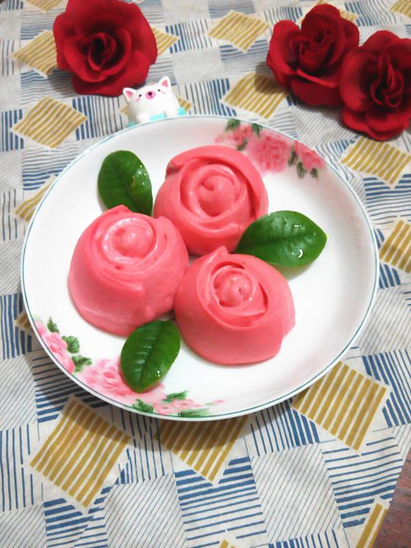 巧克力玫瑰花包的做法