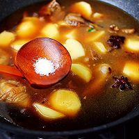 #就是红烧吃不腻!#土鸡土豆粉条一锅炖的做法图解11