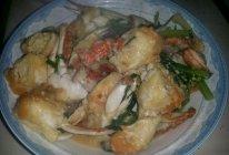 葱姜膏蟹的做法