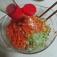 佛手瓜三鲜锅贴 的做法图解4
