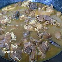 咖喱羊肉焖腐竹#咖喱萌太奇#的做法图解10