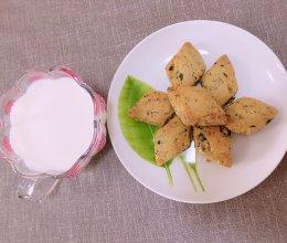 甜咸核桃小葱酥的做法