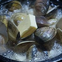 【深夜食堂】酒蒸蛤蜊的做法图解6