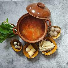 #冬天就要吃火锅#番茄土豆小火锅(一人食)