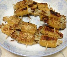 豆腐皮金针菇卷的做法