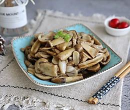 肉丝炒姬松茸的做法