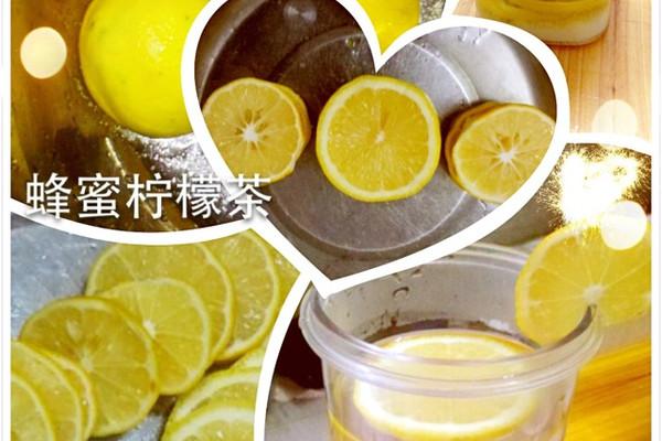 蜂蜜柠檬茶的做法