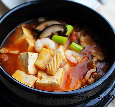 韩式豆腐锅