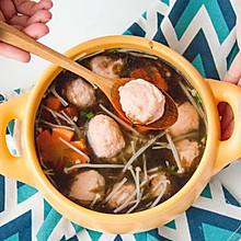 紫菜虾滑汤