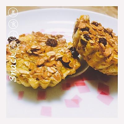 【减脂早餐】燕麦塔