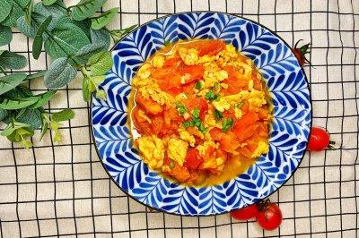 主食伴侣—番茄炒蛋