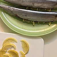 盐烤秋刀鱼--长帝焙Man CRTF32K食谱的做法图解4