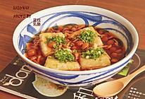 日式朴蕈烩豆腐的做法