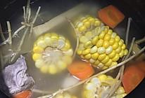 红萝卜玉米甘蔗马蹄汤的做法