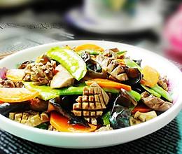 荷兰豆炒腰片的做法