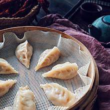 香辣萝卜蒸饺(附柳叶饺的手法)
