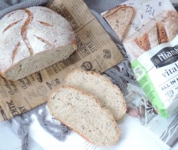 活力燕麦面包