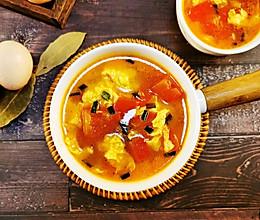 #合理膳食 营养健康进家庭#番茄鸡蛋汤的做法