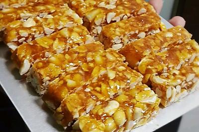 手工花生糖——香甜酥脆,秋冬必备(是不是很押韵?)