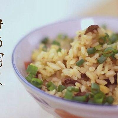 腊肠焖饭(电锅版)