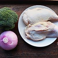 #肉食者联盟# 黑椒鸡腿饭的做法图解1