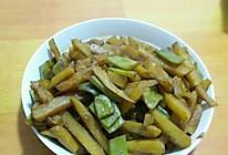 扁芸豆炖土豆的做法