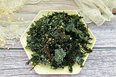 #我们约饭吧#自制香酥海苔