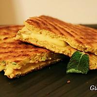 玉米流心芝士烤饼