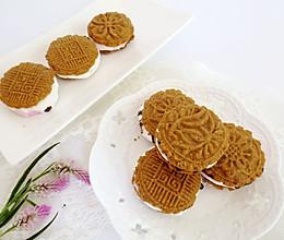 棉花糖淋酱饼干的做法