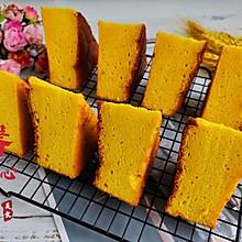 #舌尖上的端午# 送你一款好吃到停不下来南瓜戚风蛋糕