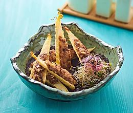 香菇猪肉酿春笋的做法