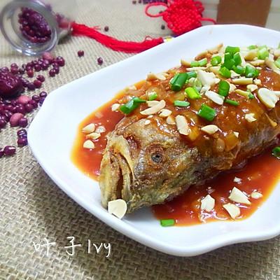 广东-年夜饭必备-红红火火酸甜鱼(少油版)