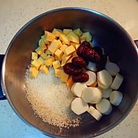 红薯山药粥「吃它」的做法图解2