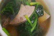 补铁利器     菠菜猪肝汤的做法