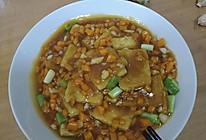 米饭杀手之蒜香煎豆腐的做法