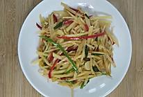 开胃下饭的酸辣土豆丝,一次能吃三碗饭的做法