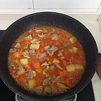 番茄土豆胡萝卜炖牛腩的做法图解9