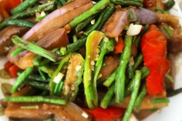 茄子豆角的做法_【图解】茄子豆角怎么做好吃
