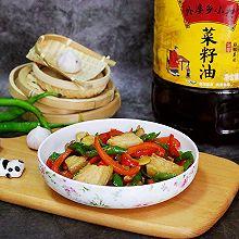 小炒肉#金龙鱼外婆乡小榨菜籽油 外婆的食光机#