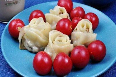 电饼铛版玫瑰花肉卷