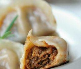 咖喱牛肉煎饺的做法