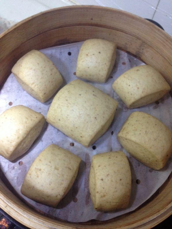 全麦小麦胚芽馒头的做法