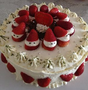 gyxiloveyou的草莓生日蛋糕的做法的评论