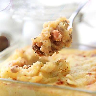 宝宝菜谱----土豆牛肉泥(7+)的做法