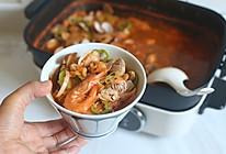#硬核菜谱制作人# 鲜美的泡菜海鲜锅的做法