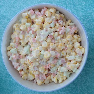 玉米沙拉(和肯德基差不多味道)
