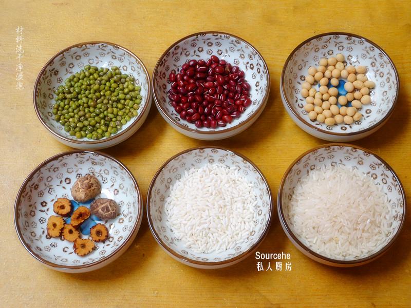 苏泊尔球釜电压力锅杂粮饭的做法