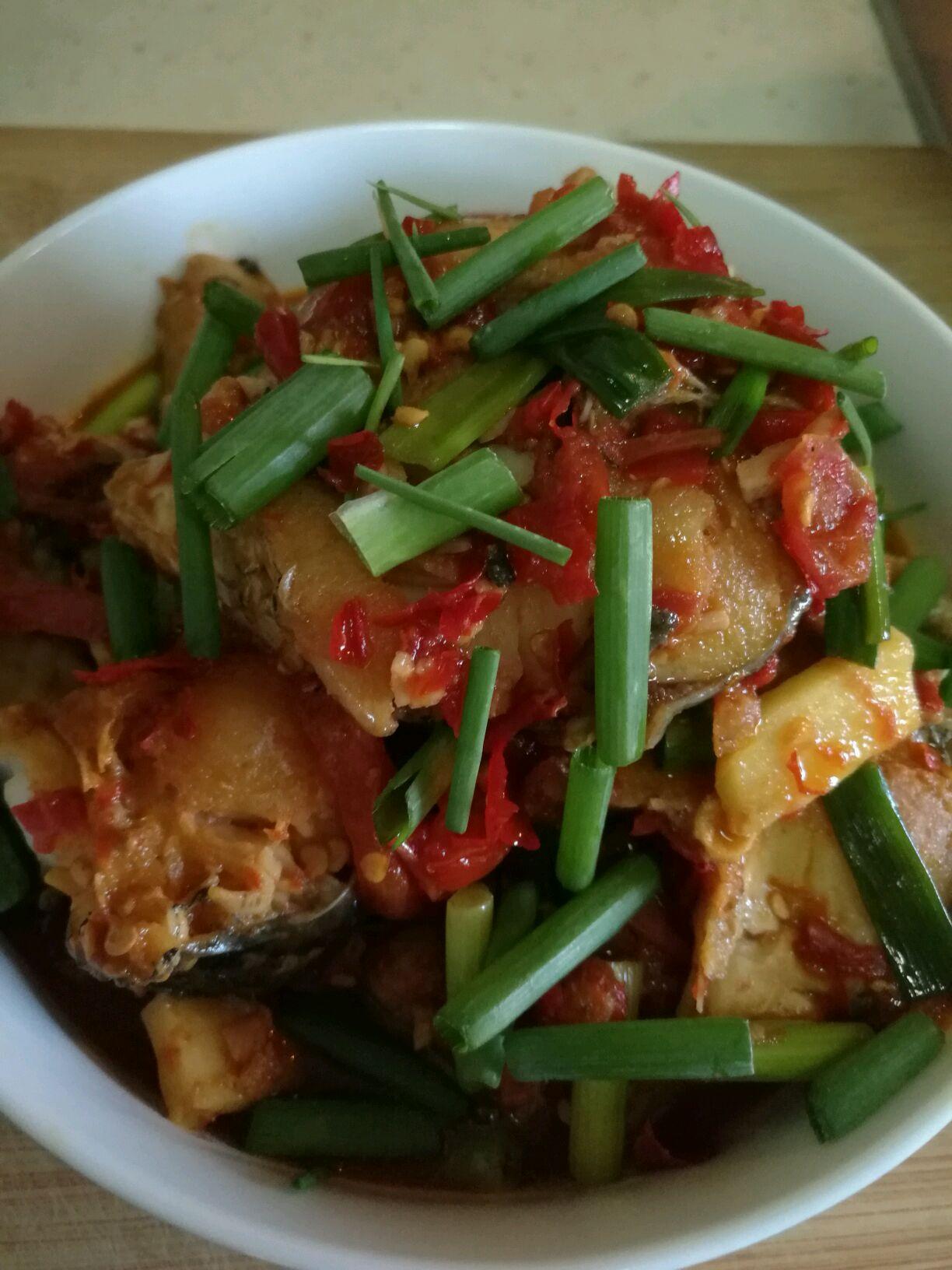 剁椒鱼块#做法上首页酸辣家常菜#的我要榨汁8食谱秋天图解图片