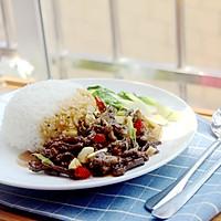 黑椒牛肉饭#金龙鱼外婆乡小榨菜籽油 最强家乡菜#