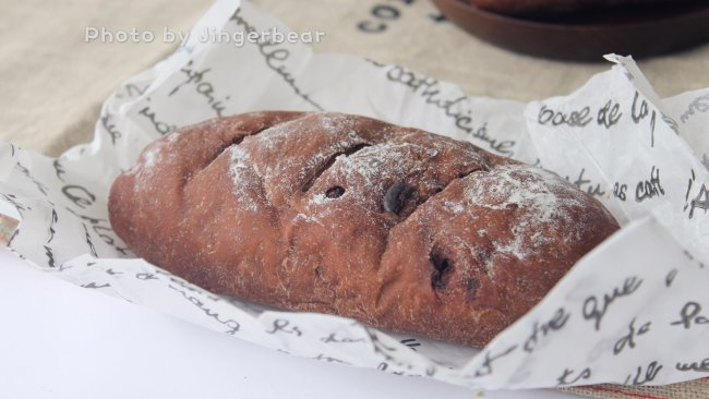 无糖少油巧克力软欧包的做法
